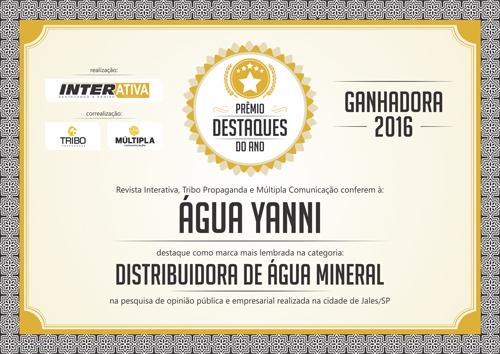 Prêmio Destaques do Ano 2016